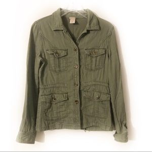 Missimo Army Jacket Button Down Shirt